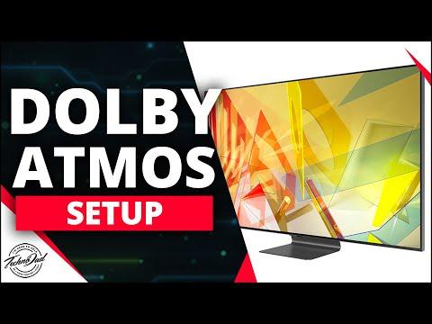 Samsung Q90T Dolby Atmos Setup, eARC/ARC How to | Q70T, Q60T, Q80T, Q800T, Q900TS 4K & 8K TV 2020
