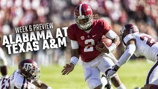 How Alabama is preparing for its trip to Texas A&M