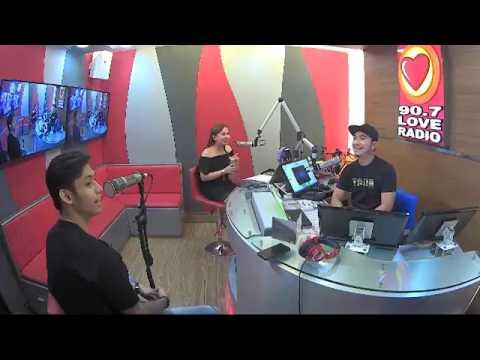 Michael pangilinan radio tour @ love radio
