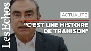 Carlos Ghosn se dit