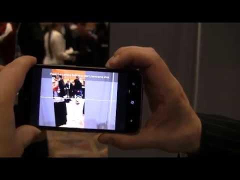 CES 2012: HTC Titan II Windows Phone Demo