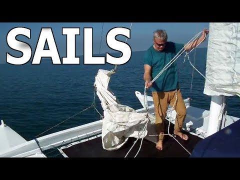 Catamaran Set Sails