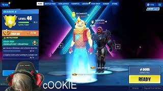lets play fortnite trying to get to 300 SUBS I DONATED $100 TO DC OMGGGGGGGGG GIVE HIM A SUB XD