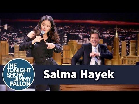 Jimmy Fallon Salma Hayek
