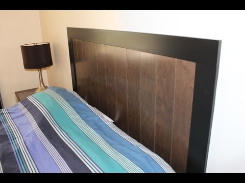 Build A Headboard With Prefinished Engineered Hardwood