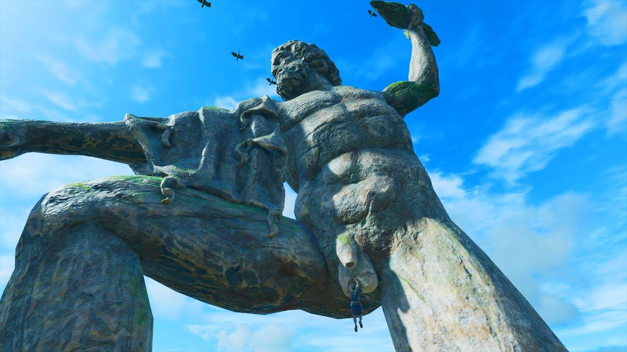 Climbing And Jumping Off Zeus Statue Highest Point Of Kephallonia