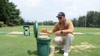 Greg Greksa explains the importance of sanding your divots