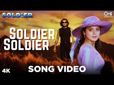 Soldier Soldier Song Video - Soldier | Kumar Sanu, Alka Yagnik | Bobby Deol & Preity Zinta