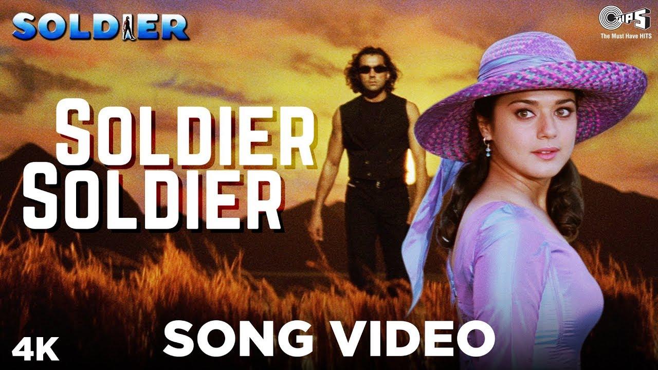 Download Soldier Soldier   Kumar Sanu   Alka Yagnik   Bobby Deol   Preity Zinta   Anu Malik   90s Hindi Song