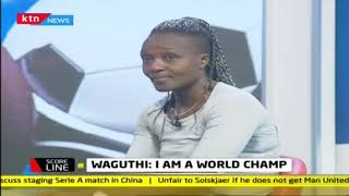 Kenya's World Champion Boxer, Waguthi breaks down in tears on live TV