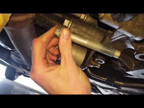How to replace the torque strut on a lincoln mkz zephyr fusion edge