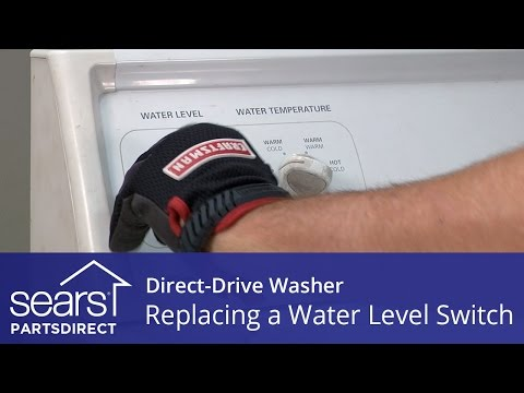 Replacing The Water Level Pressure Switch In A Direct-Drive Washer (Kenmore, Whirlpool And Maytag)