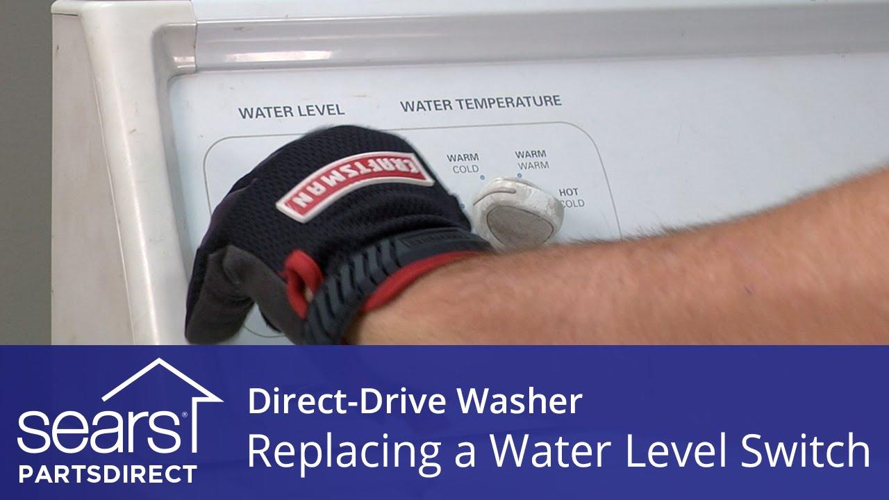 kenmore washing machine water level switch
