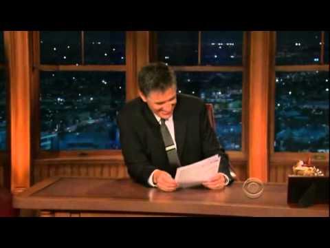 Late Late Show with Craig Ferguson  9/10/2009 Audrey Tautou, Ron Livingston