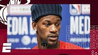 Jimmy Butler 2020 NBA All-Star Media Day | NBA on ESPN