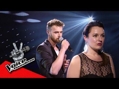 Mike en Stefanie zingen 'Iris'   The Battles   The Voice van Vlaanderen   VTM