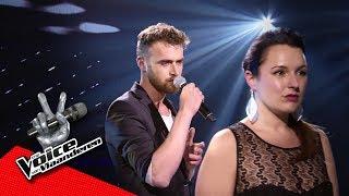 Mike en Stefanie zingen 'Iris' | The Battles | The Voice van Vlaanderen | VTM