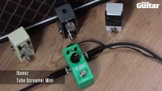 Mini Effects Pedal Shootout Demo: Overdrive (Movall, Ibanez, Joyo, Xotic)