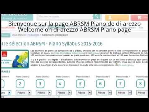 ABRSM Piano 2015-2016