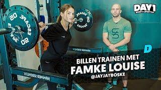 Billen trainen met FAMKE LOUISE || #DAY1 Afl. #47