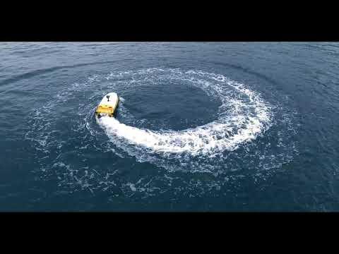 New ME40 water jet autonomous bathymetry survey boat from oceanalpha