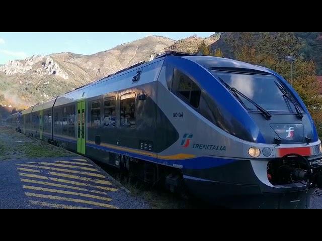 Il primo treno da Cuneo a Tenda è arrivato
