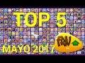 TOP 5 Mejores Juegos FRIV.COM de MAYO 2017