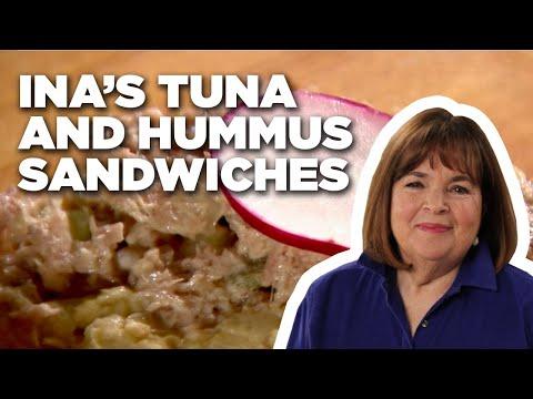 barefoot-contessa's-tuna-salad-and-hummus-sandwiches-|-food-network