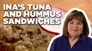 Barefoot Contessa's Tuna Salad and Hummus Sandwiches | Food Network
