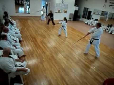 NUNTE BO Okinawan Karate Club of Dallas January 2013