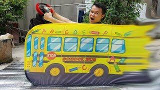 Trò Chơi Bus Go Trường Học ❤ ChiChi ToysReview TV ❤ Đồ Chơi Trẻ Em Baby Fun