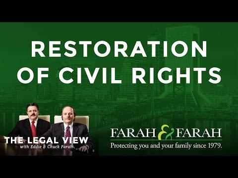 Restoration Of Civil Rights In Florida  | Farah & Farah