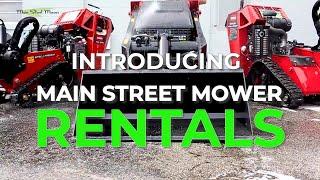 Rentals at Main Street Mower
