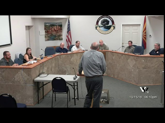 Cottonwood Planning and Zoning Commission Meeting October 15 2018