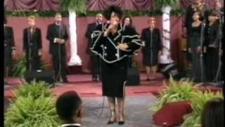 Vickie Winans sings SAFE IN HIS ARMS