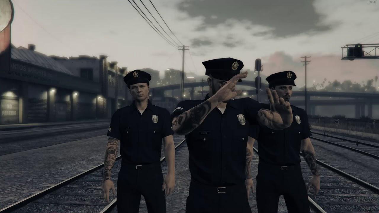 GTA 5 Funny Moments - The Vespucci Job