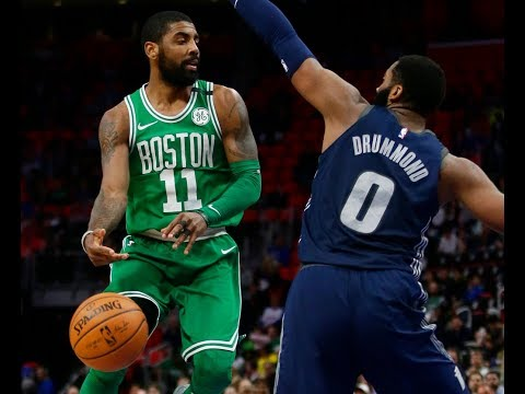 Kyrie Irving wants Boston Celtics to find consistency   Press conference after beating Detroit Pi...