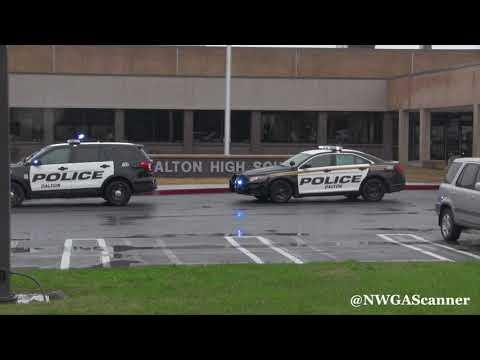 Whitfield County 911 calls during shot fired incident involving Dalton High school teacher
