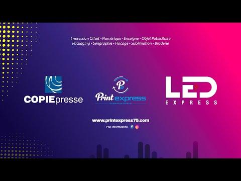 COPIE PRESSE - PRINTEXPRES - LED EXPRESS