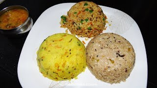 Breakfast Recipes - Breakfast Menu Recipe 4 - Upma Recipes - Wheat Rava Upma Recipe - Poha  Recipes