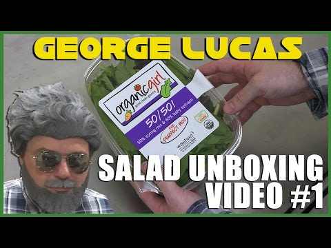 George Lucas Salad Unboxing Video #1