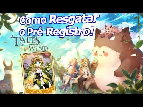 Tales Of Wind: Como resgatar o Pré-Registro!!! Recebendo a carta Gold da Nympha!!! - Omega Play