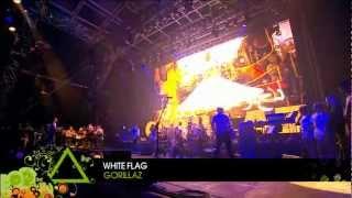 Gorillaz - White Flag (Live @ Glastonbury 2010)