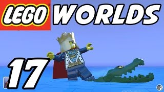 LEGO Worlds - E17 - CROCODILE SURFING!  (Gameplay Playthrough 1080p60)