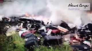 MH17. Первые кадры. First Footage.