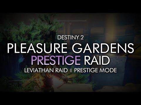 Destiny 2 - Prestige Pleasure Gardens / Dogs Encounter - Prestige Leviathan Raid