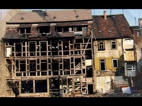 Die Erfurter Altstadt vor und nach der Wende