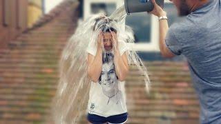 Zoella ALS Ice Bucket Challenge