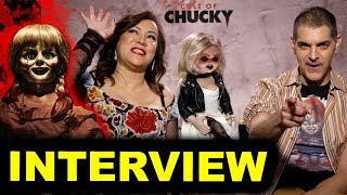 Cult of Chucky Interview - Don Mancini & Jennifer Tilly
