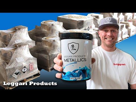 leggari-metallic-epoxy-project-sneak-peeks,-shipping,-packaging-&-other-warehouse-behind-the-scenes